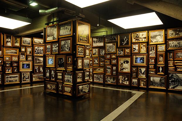 Sala Origens do Museu do Futebol